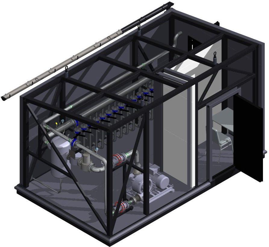 Biogaas pumpla